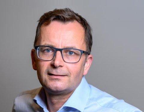 TROMSØKONTOR: Tore Johnsen er født i Harstad og startet yrkeskarrieren med markedsføring av Nordkapp og Finnmark som reiselivsdestinasjon.