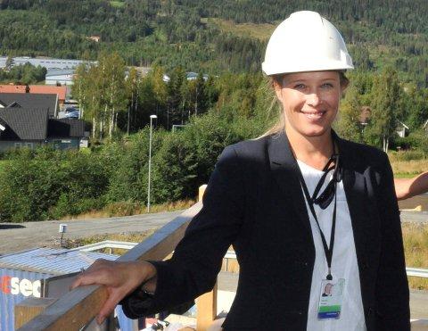 Populært: Eiendomsmegler Camilla Hveem ved Dragerlia på Raufoss.