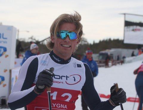 GODE MÅNEDER: Treningen har gått som ønsket for Vebjørn Hegdal.