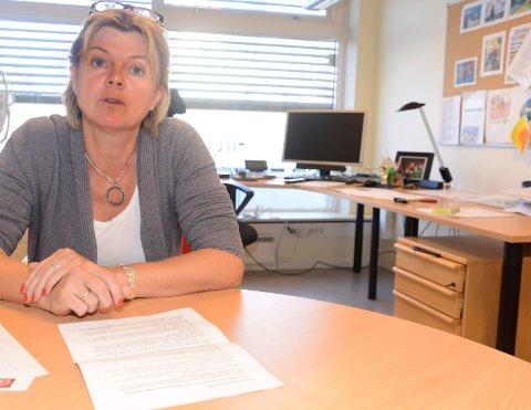 FIKK SJOKK:  – Jeg er sjokkert over tallene fra NHO. Dette må vi ta på alvor og gjøre noe med, sier Våler-ordfører Lise Berger Svenkerud.
