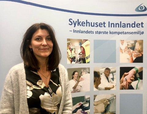 VIKTIG: – Kompetanseheving blant våre ansatte er viktig, fastslår Ragnhild Wulfsberg, konstituert HR-direktør i Sykehuset Innlandet.