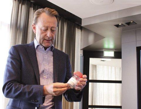 RISIKO: Bjørn Rune Gjelsten er eier av NOAH og tar risikoen ved deponi-investeringen.