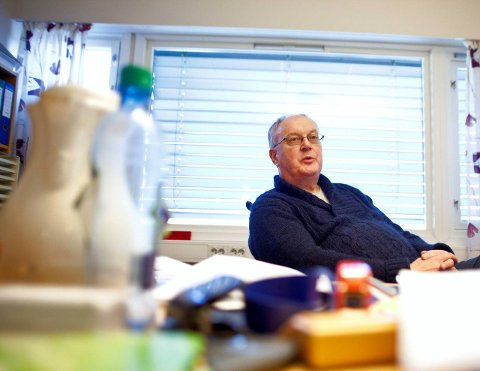 Fornøyd med avgiftsnivået: Rådmannen i Rakkestad, Alf Thode Skog, sier det er kommunens langsiktige planlegging som gjør at avgiftsnivået er så lavt som det er i Rakkestad. Foto: Lars Brock Nilsen