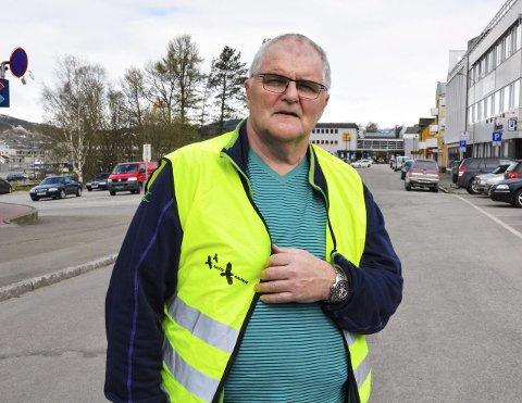 Koordinerer: Stein Hovind, koordinator for Natteravnene, håper så mange som mulig møter opp for å bidra. Foto: Kenneth Haagensen Husby