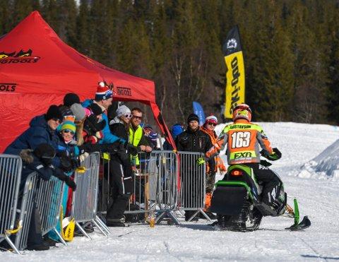 Her ser vi fra konkurransen i Bleikvassli Vinterfestival i fjor.