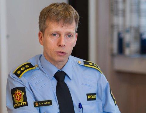 Politistasjonssjef Kjell Magne Tvenge.
