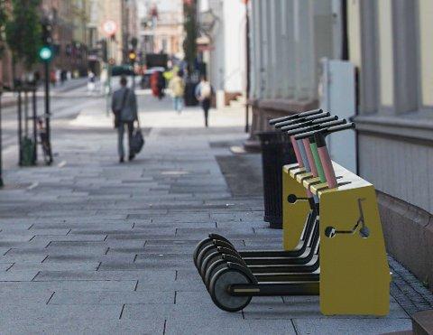 Torstein Kjenne mener at elsparkesyklene trenger en infrastruktur som tar hensyn til ikke-brukere så vel som brukere. Foto/illustrasjon: Torstein Kjenne