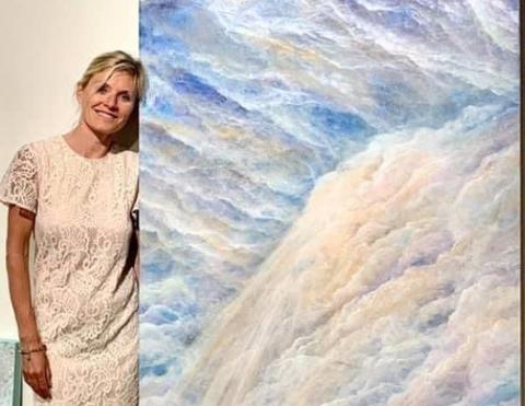 SYNESTESI: - Dette er slett ingen sykdom, sier Birgitta Strobel som stiller ut i Holmsbu i november.
