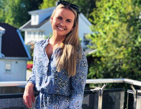 FLYTTET TILBAKE: Trine Anfinsen Nilsen (25) vendte hjem igjen i fjor sommer. Da kjøpte hun seg egen leilighet på Teksleåsen i Sandefjord.