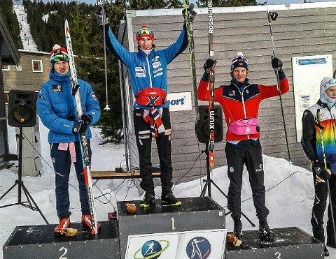 SEIRET: 19 år gamle Jørgen Lippert fra Trøsken IL gikk til topps i 10 kilometer klassisk med intervallstart lørdag.