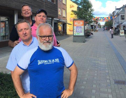 SA-PODDEN: Øistein Veberg, Petter Kalnes, Patrick Wather Larsen og Bjørn Inge «Bingen» Nilsen.