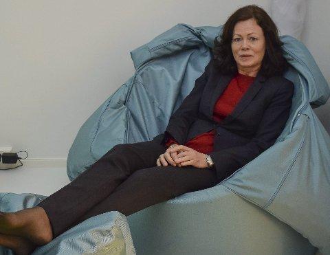 Indre Østfold krisesenter, det første i landet med sanserom. Trygve skaug, Barne-, likestillings- og inkluderingsminister Solveig Horne (Frp).