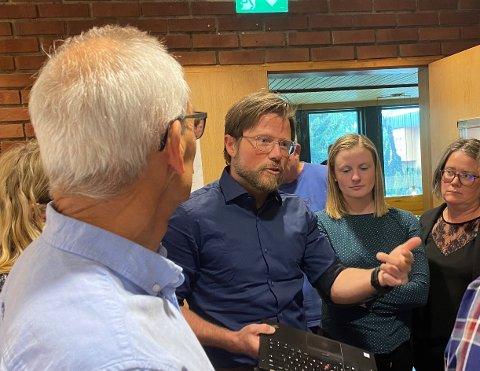ENGASJERT: Kåre Hønsi engasjerte seg sterkt i debatten om ladestasjonar i Luster.