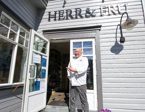 OPTIMIST: Innehaver Christian Wernersen har stor tro på at Herr & Fru skal komme seg greit igjennom 2020.
