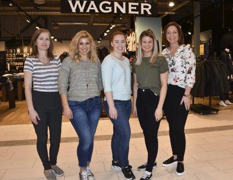 Suksessgjengen: Alle de ansatte på Wagner Savoy: (Fra venstre:) Mariana Hristova Mavrova, Nataliya Dimcheva Zlelezova, Amale Angelstad Solheim, Susanne Garcia Giving og Kristin Songe Bakken.