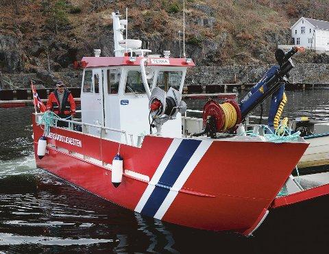 Skal ansette: Tvedestrand kommune trenger en båtfører som kan kjøre skjærgårdstjenestens båt Terna. Da søknadsfristen gikk ut sist uke, hadde 36 kandidater meldt seg. Arkivfoto