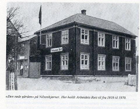 Navneskifte: Første utgave av Arbeidets Rett , 4. januar 1912.