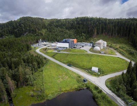 Ecopros anlegg i Verdal
