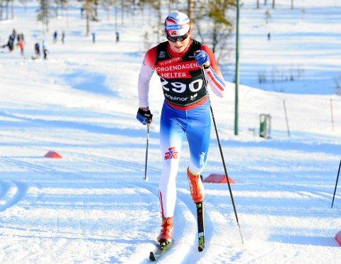 GOD SESONG: Det ble en god sesong for Vegard Aarstad selv om han ikke fikk gjennomført junior-NM og norgescupfinalen som var de store målene i vinter.