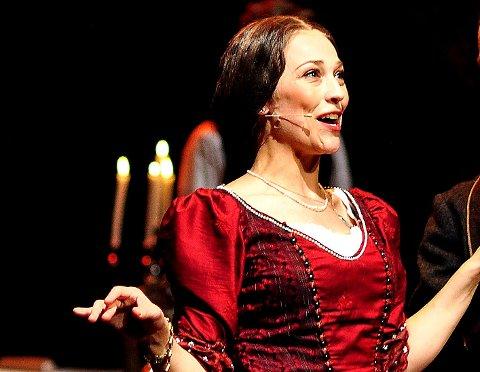 Musikkspill: Lady Arbuthnott. Arkivbilde.