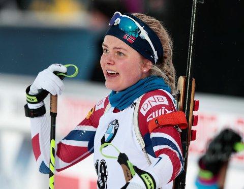 Hilde Fenne vant et IBU-cuprenn i helgen, og kommende helg kan hun overbevise ytterligere i verdenscupen. Da ligger vossingen godt an til OL.