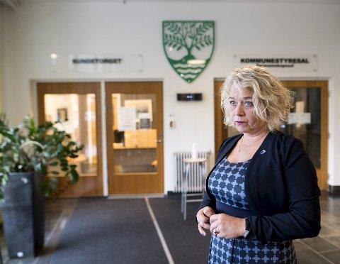 Ordfører i Askøy kommune, Siv Høgtun (H).