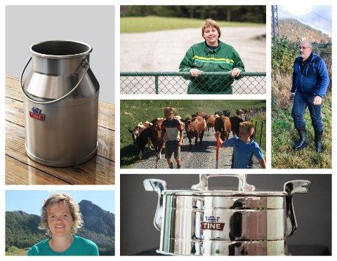 DEN BESTE MELKA: Er det elitebøndene som leverer. Melkebønder i alle de fire Dalane-kommunene hedres nå for å ha levert topp kvalitet i 15 og 25 år.
