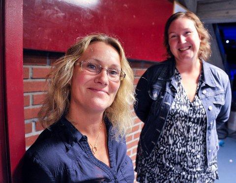 Positiv: Kristin Nyhus Reiersud og Anna Lena Veum i Gulskogen barnehage mener det er fornuftig å tenke skole og barnehage under ett.