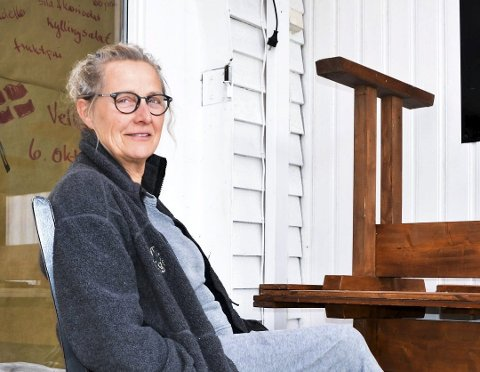 MÅTTE GI OPP: Lillian Vest rakk bare å drive kafeen i litt over ett år, men det var ikke liv laga. Nå er serveringsstedet konkurs.