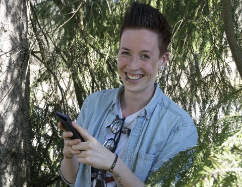 – å komme seg ut: Det er det aller fineste med geocaching, mener Mette Helling fra Ytre, som har samlet geocacher i snart fire år.