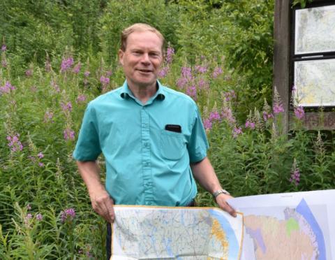 Ottar Slagtern er skog- og friluftsforvalter på avdeling for natur, geodata og byggesak i Enebakk kommune.