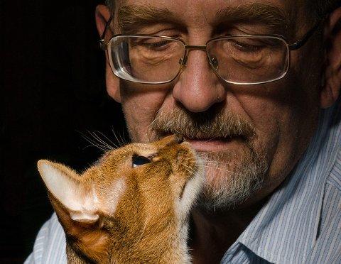 Dyr gir hygge – ikke minst til demente. Illustrasjonsfoto.