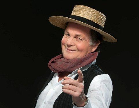 Selvsikker håndverker: Anders Hatlo spille «Stjærten» i Brottet til sommeren.
