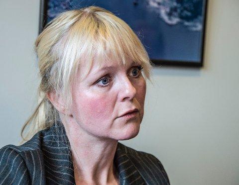 Leder. Mona Vauger er den ubestridte lederen i Hvaler Ap. Nå håper hun på et vaktskifte i Hvaler-politikken.