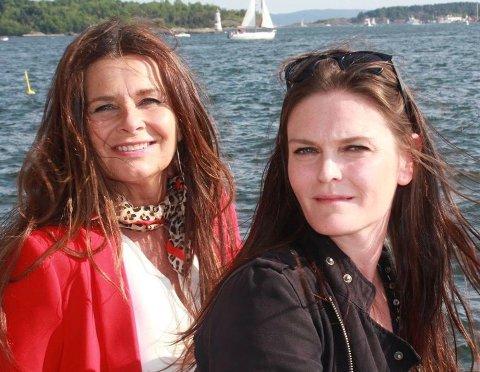 Kunstnerisk ansvarlig Ingrid Kindem og prosjektleder Christel Forsberg