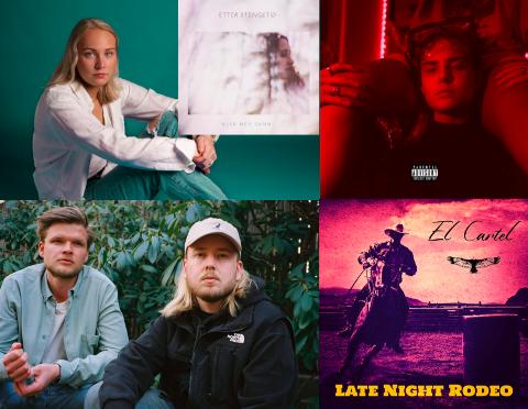 Fire EP-er og tre singler har lokale artister og band sluppet de siste to månedene.