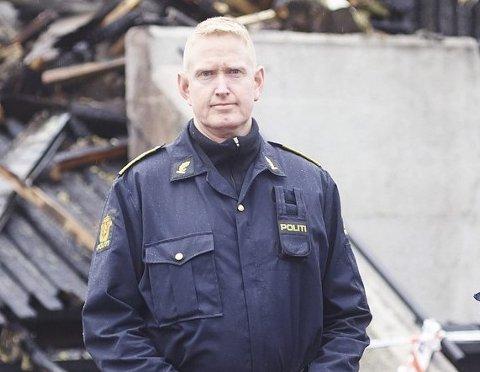 Dag Tore Bauthler, brannetterforsker ved Narvik politistasjon.