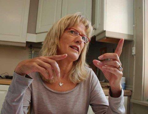 PAUSE: Karin Andersen ber om en pause i vindkraftutbyggingen.