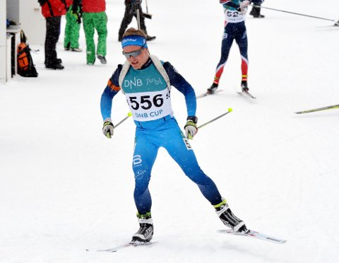 Vingrom-løperen Kristoffer Jonsson vant sprinten under norgescupåpningen på Geilo.