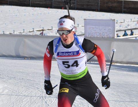NY SEIER: Vebjørn Sørum gikk til topps på Lygna lørdag.