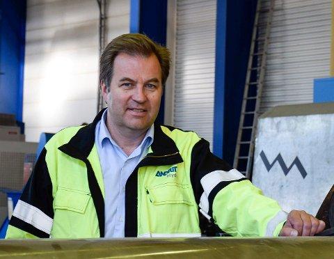 FORTSATT MYE Å GJØRE: - Vi klarer å holde en høy aktivitet på veldig mange av prosjektene våre, sier daglig leder Kjetil Toverud på Andritz Hydro.