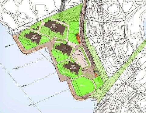 Detaljreguleringsplan for Rossabø Brygge er oppe til  politisk andregangsbehandling i april. Planen er 66 leiligheter ved Karmsundet, fordelt på fire bygg.