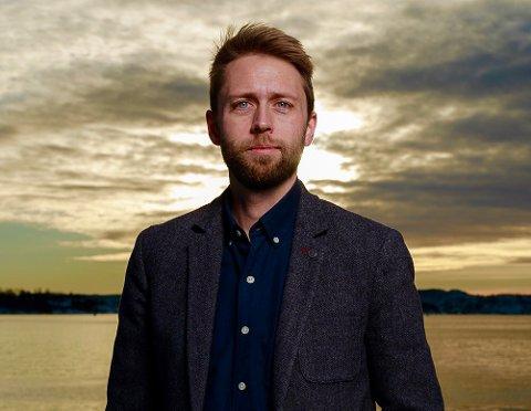 DEBUTERER: Trygve Kalland fra Haugesund debutere med en  thriller fra IS-miljø-