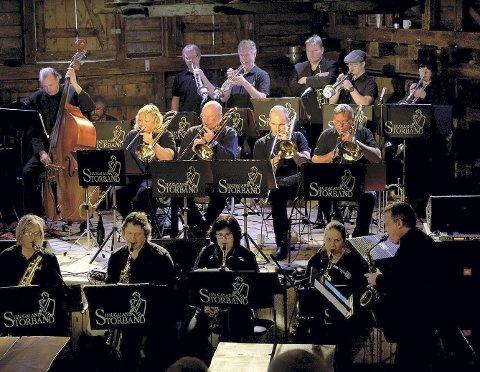 BLUES OG STORBAND: Haugaland Storband inviterer til konsert sammen med bluesbandet Terraplane.