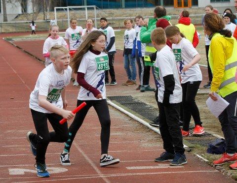 ALLSIDIG IDRETT: Mange ungdommer faller fra i idretten når de blir 15-16 år gamle. Bildet er fra TINEstafetten 2019 på Kippermoen.