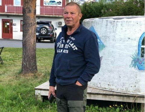 DØDE: Det var Sverre Nikkinen som døde i en båtulykke i Karasjok mandag. Bilde av avdøde frigis i samtykke med pårørende.