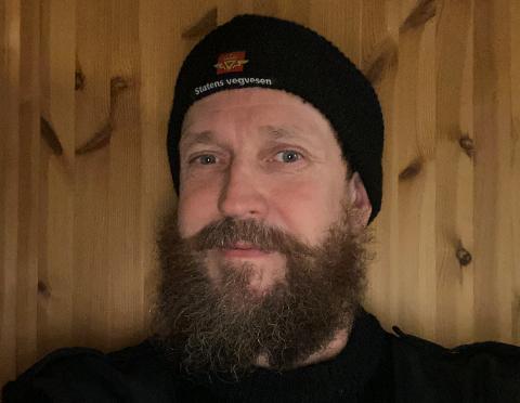 SIKKERHET: Overingeniør i Statens vegvesen, Tor Wikan, sier de tar trafikksikkerheten på alvor.