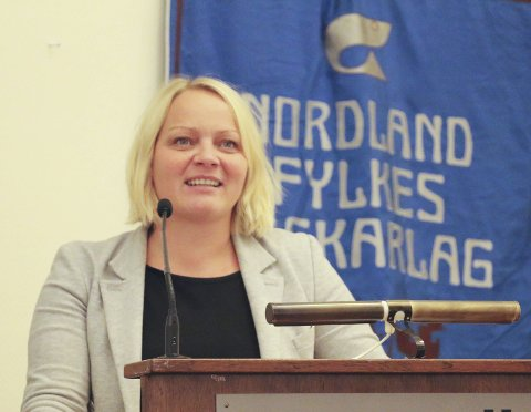 Stortinget: SVs førstekandidat Mona Fagerås fikk permisjon fra vervet som næringsråd i Nordland for å drive valgkamp.