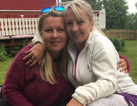 ALLTID VÆRT DER: Søsteren Anita Borch (42) har alltid vært der for Toril Borch (49) som til sammen har slitt 20 år med rus.