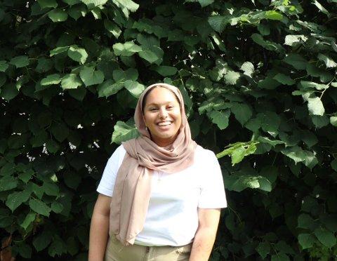 Ashna Usman fylkesleder i elevorganisasjonen er ikke fornøyd med Vikens avgjørelse.